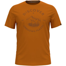 Odlo Nikko Print T-Shirt S/S Crew Neck Men marmalade/graphic